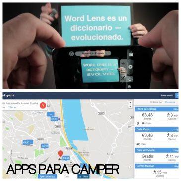 Las mejores Apps para los viajes en tu furgo camper