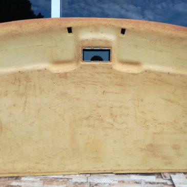 Restauración techo interior VW