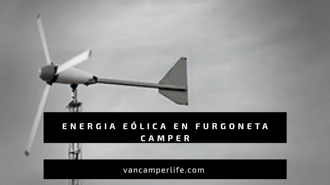 energia eolica en furgoneta camper