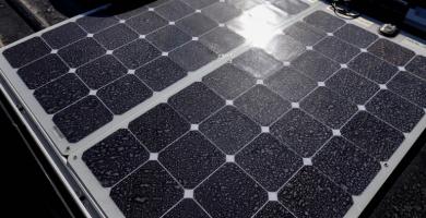 placa solar furgoneta camper
